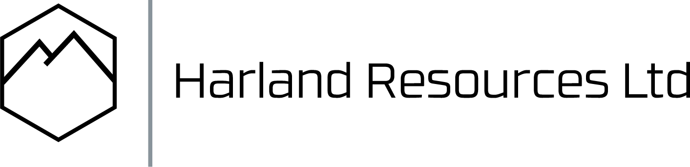 Harland Resources logo in black no space